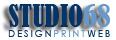 Studio 68 Design Print Web Logo